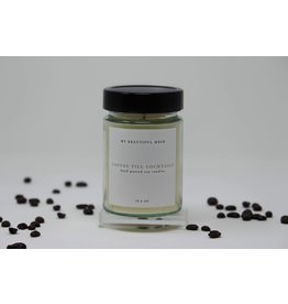 My Beautiful Mesh Coffee Till Cocktails, Candle 10.6 oz