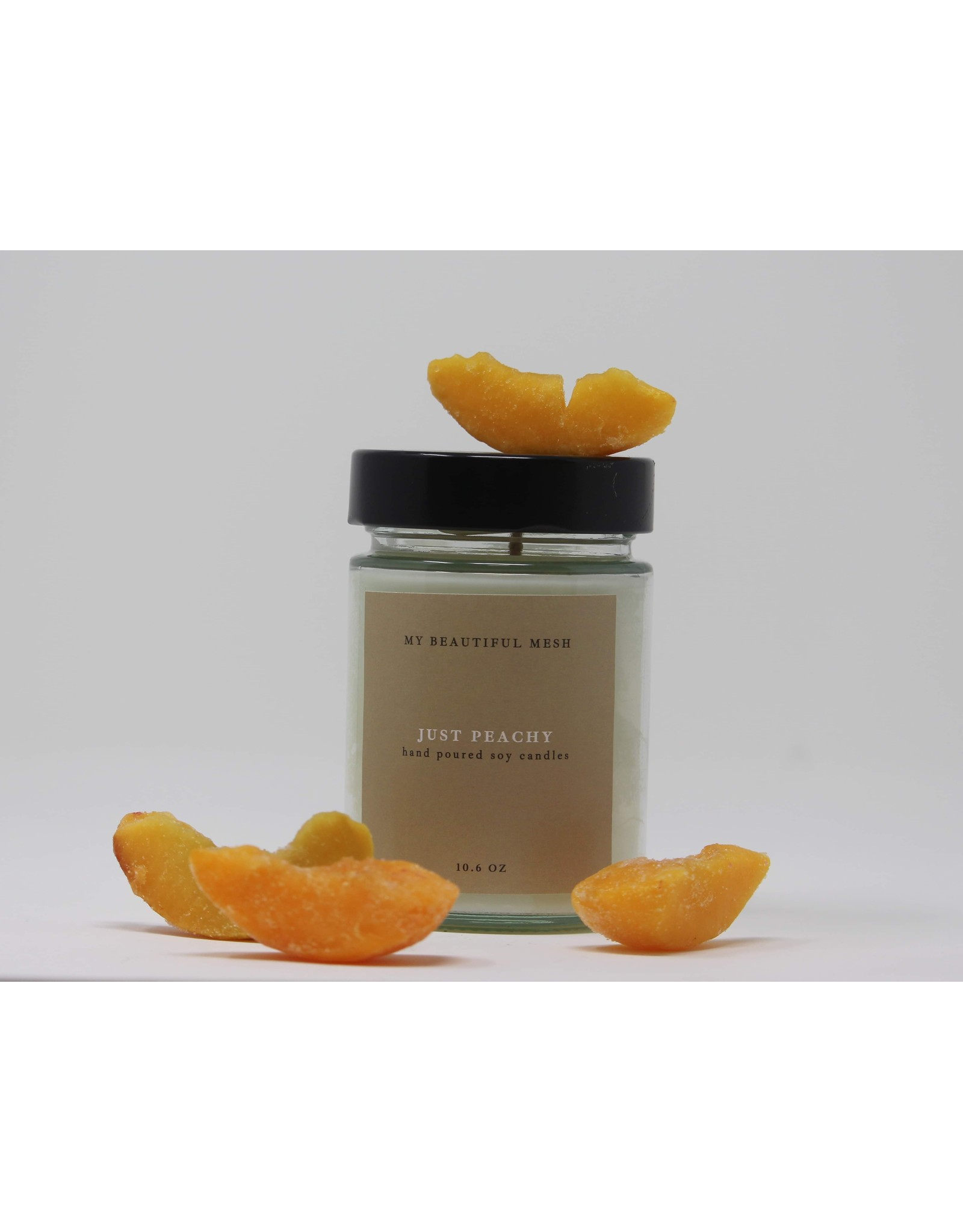 My Beautiful Mesh Just Peachy, Candle 10.6 oz (Summer Collection)