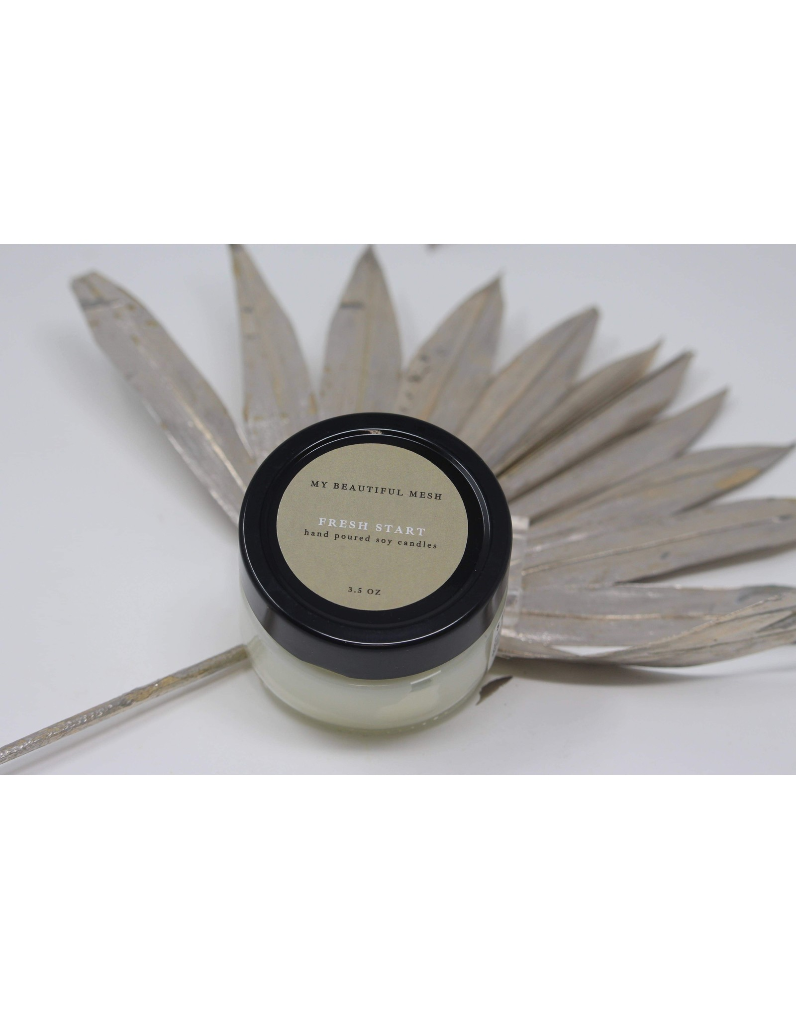 My Beautiful Mesh Fresh Start, Candle 3.5 oz (Spring Collection)