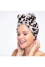 Kitsch Microfiber Hair Towel- Leopard
