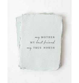 Paper barista Card, My Mother, My Best Friend