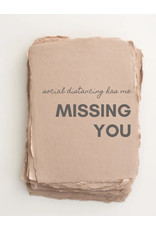 Card,Covid19 Greeting, Missing You