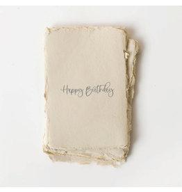 Paper barista Card, Happy Birthday