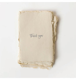 Paper barista Card, Thank You