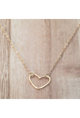 Glee jewelry Amore Necklace/ Gold