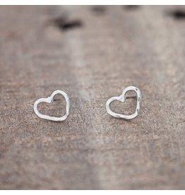 Glee jewelry Amore Studs/Silver