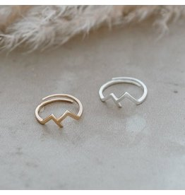 Glee jewelry Rocky Mountain Ring/Gold