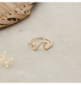Glee jewelry Offshore Ring/Gold