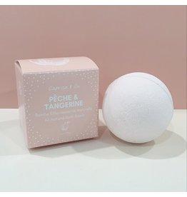 Caprice & Co Bath Bomb-All Natural/Peach & Tangerine