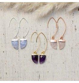 Glee jewelry Chic Earrings/Silver