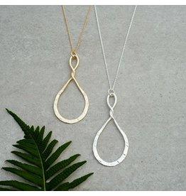 Glee jewelry Convolution Necklace/Silver