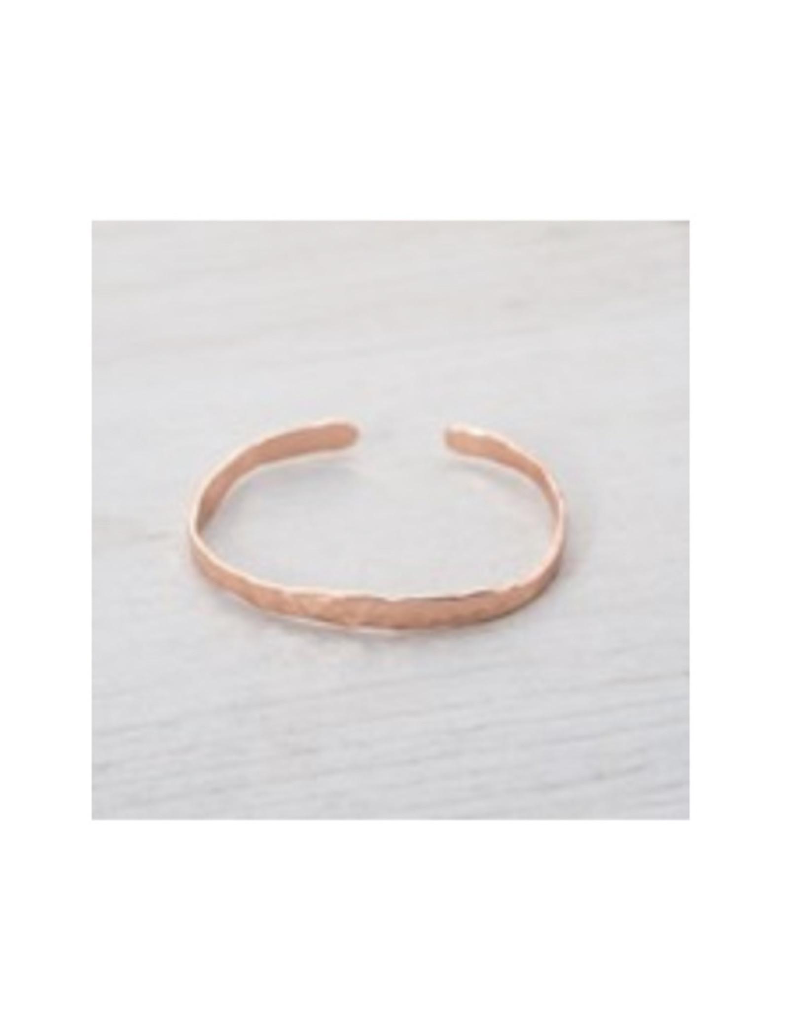 Glee jewelry Facile Cuff/Rose Gold