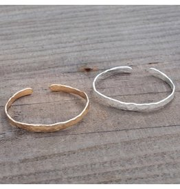 Glee jewelry Facile Cuff/Silver