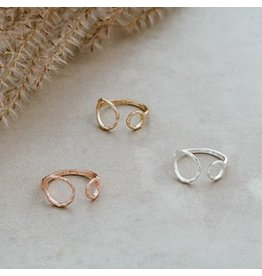 Glee jewelry Faith Ring/Rose Gold