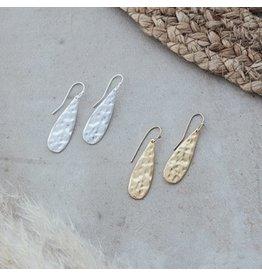 Glee jewelry Teardrop Earrings/Silver