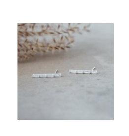 Glee jewelry Poise Studs/Silver