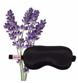 Kitsch Satin Weighted Eye Mask-Lavender
