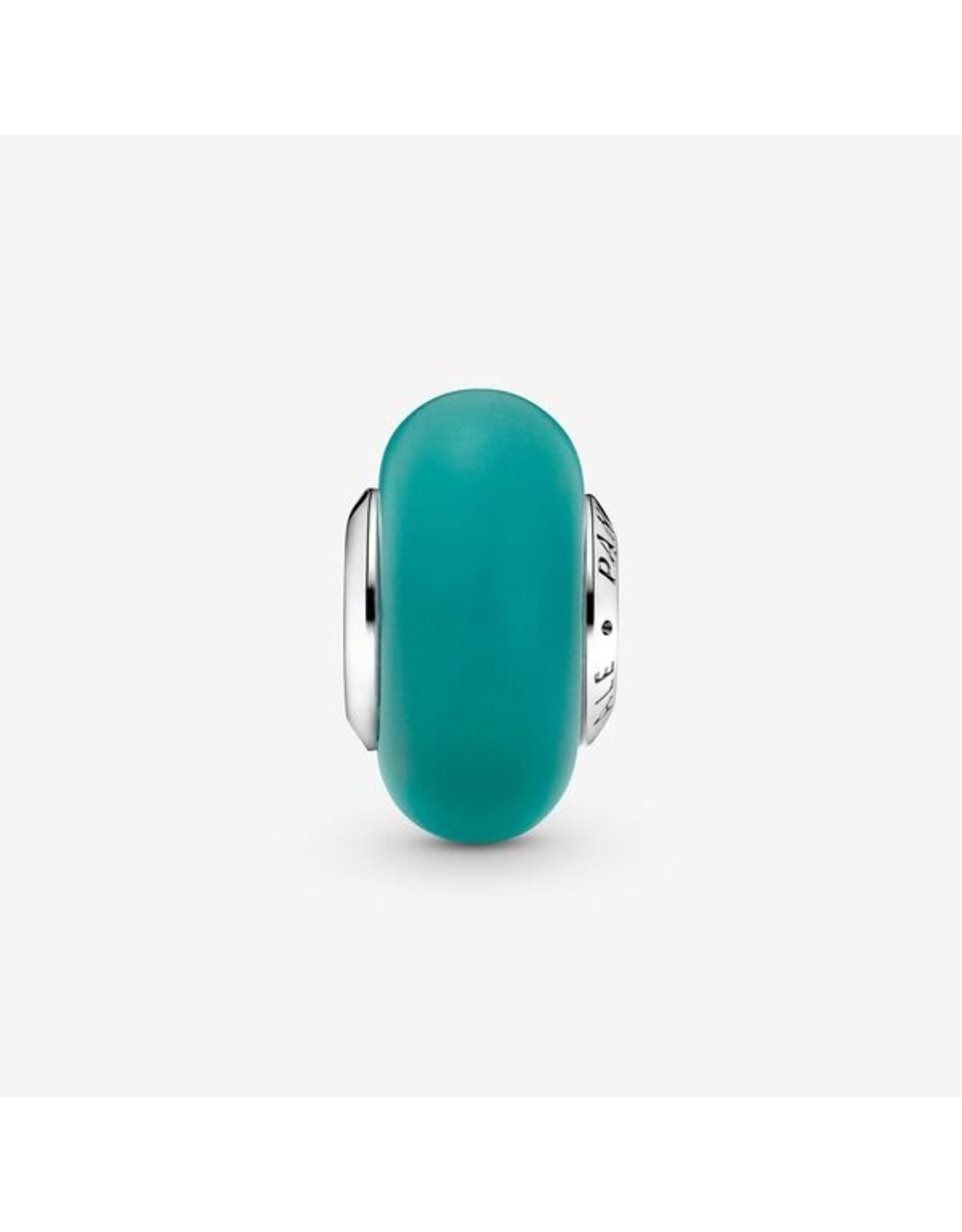 Pandora Pandora Charm, 799555C00, Matte Green Murano Glass