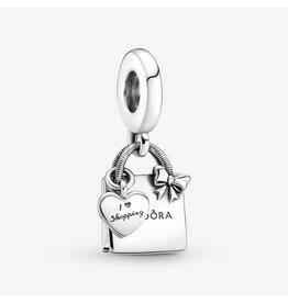 Pandora Pandora Cham,799536C00, Shopping Bag Dangle
