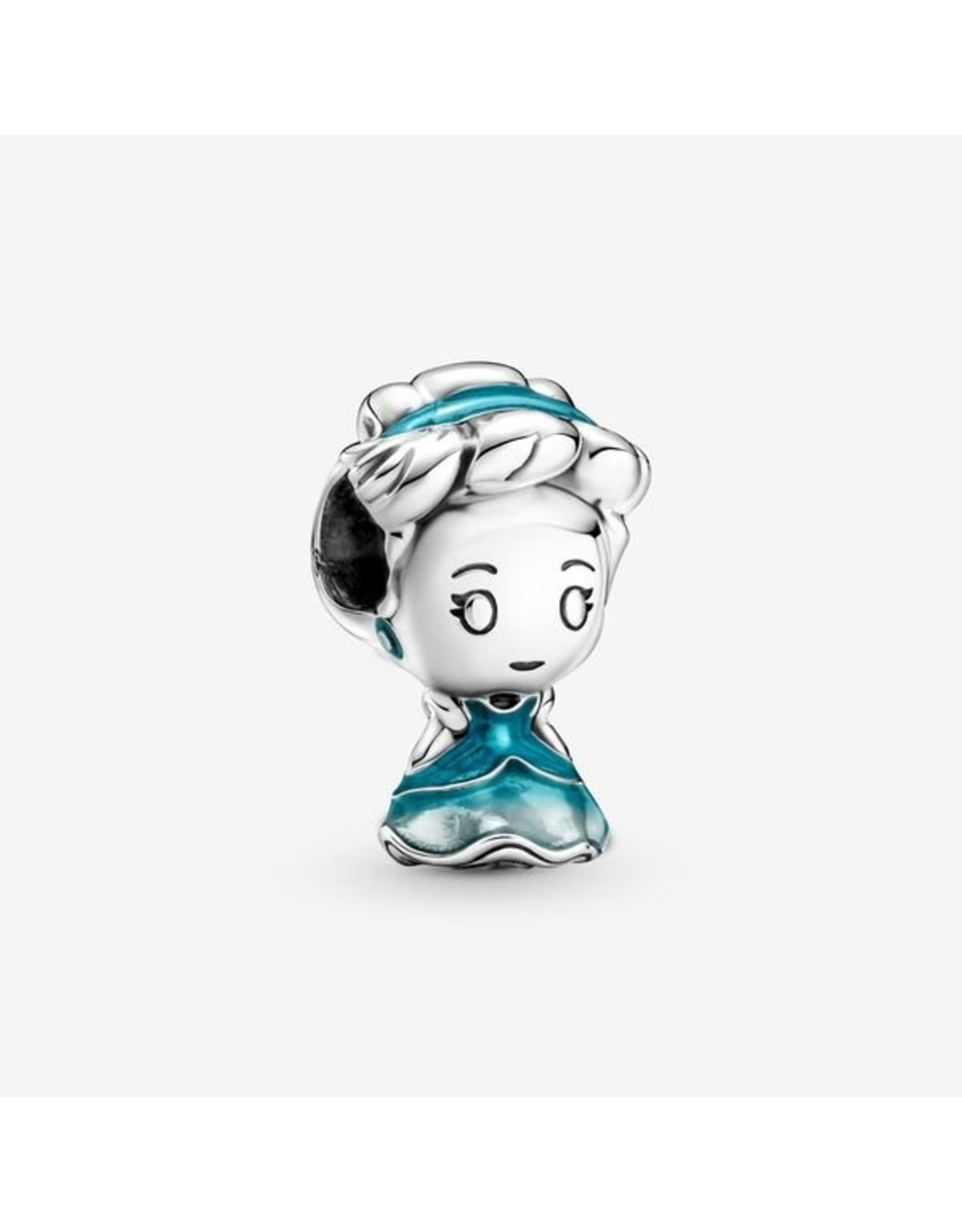 Pandora Pandora Charm,799509C01, Disney Cinderella, Mosaic Blue Enamel