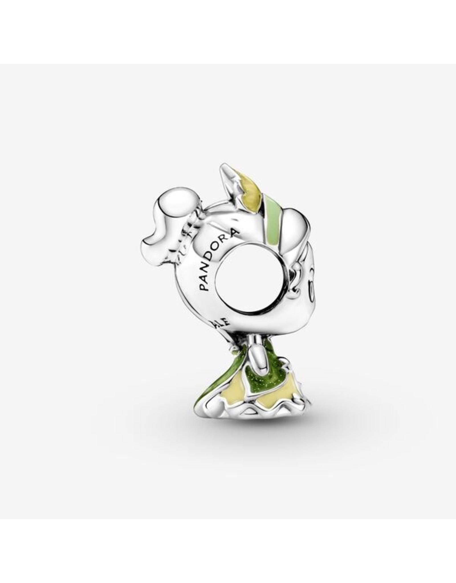 Pandora Pandora Charm, 799510C01, Disney Princess Tiana And The Frog, Mixed Enamel