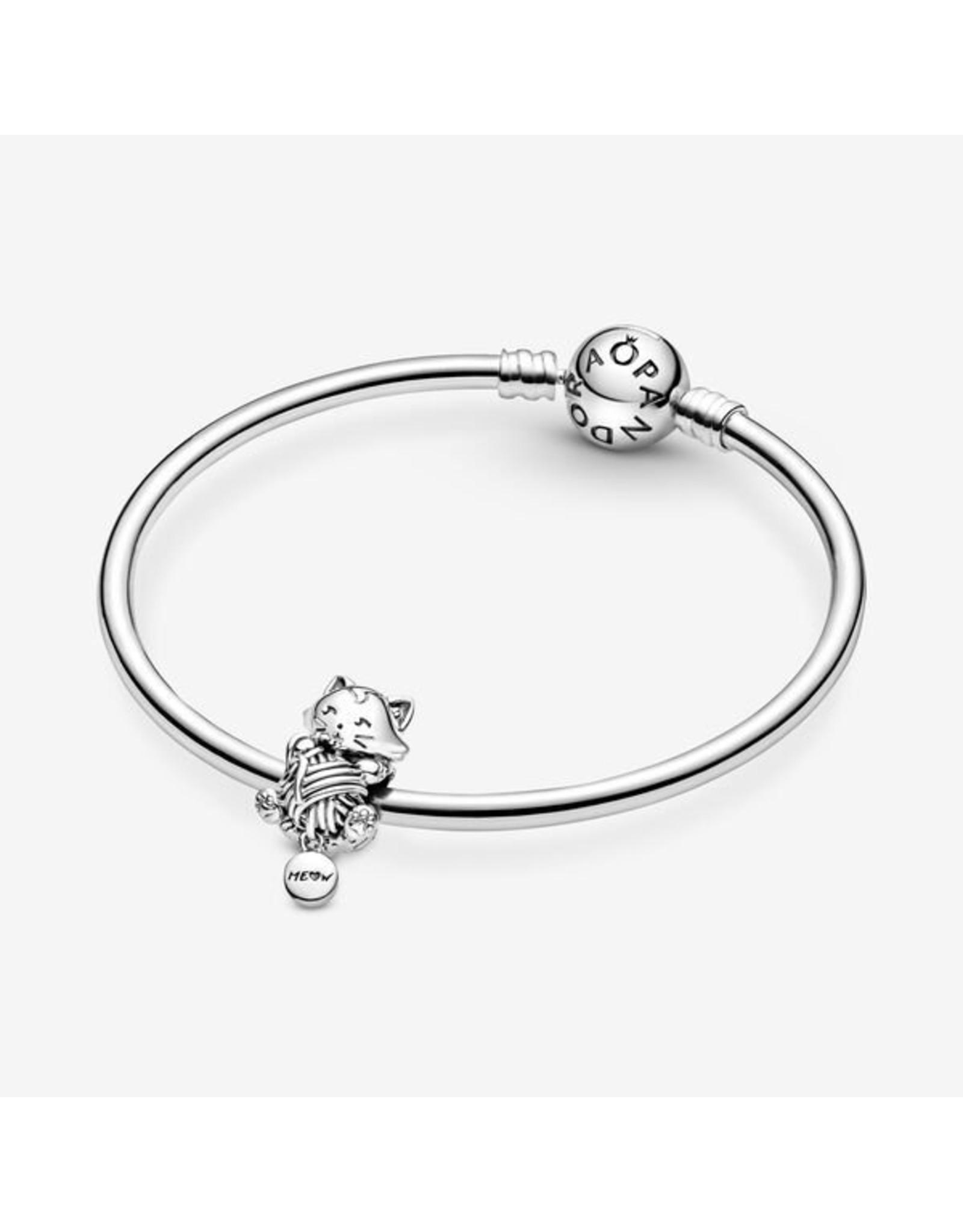 Pandora Pandora Charm,799535C00, Kitten & Yarn Ball