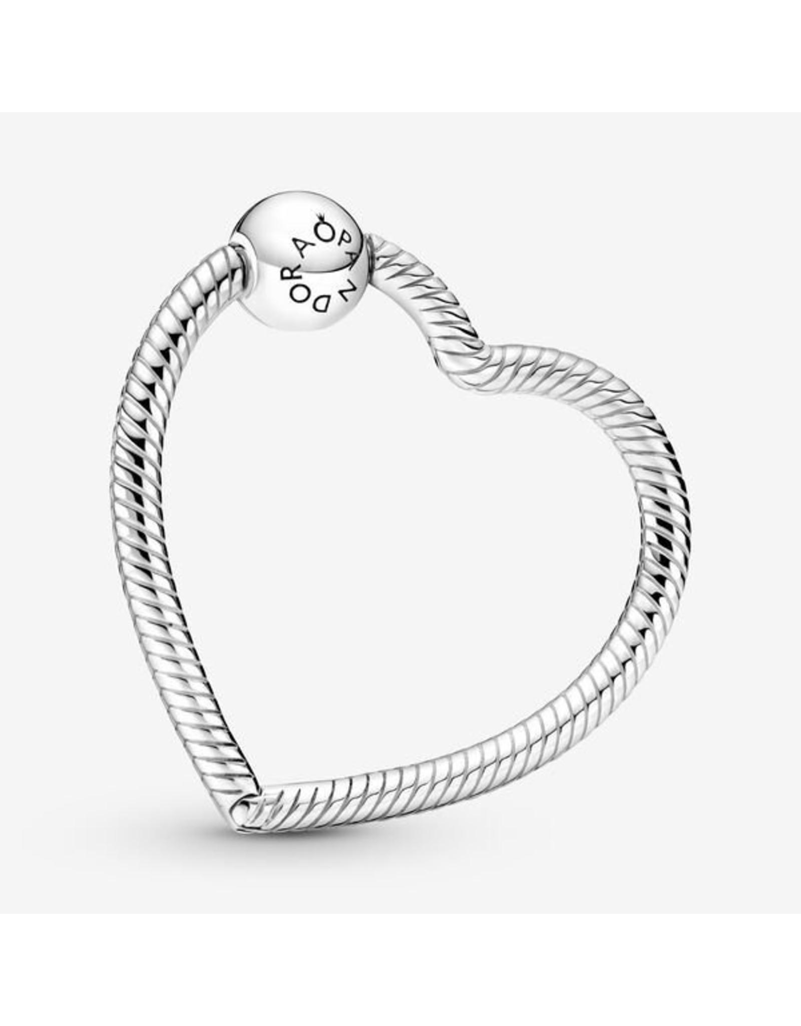 Pandora Pandora Charm Holder,399505C00, Heart