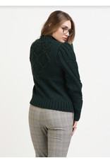 Dex Cable Knit Sweatshirt, Pine