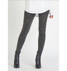 Dex High Waist Pocket Legging, Grey Wash