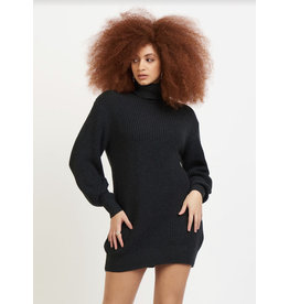 Dex Cocoon Sweater Dress , Charcoal