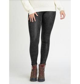 Dex High Waist Crackle Legging, Black