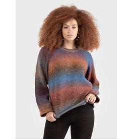Space Dye Sweater, Rainbow