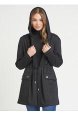 Dex Hooded Jacket, Black