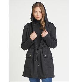 Hooded Jacket, Black