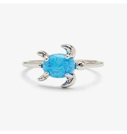 Pura Vida Opal Sea Turtle Ring