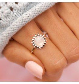 Pura Vida Sunshine Ring-Silver