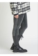 Dex Plus Curduroy High Waist Legging, Black