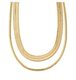 Pilgrim Pilgrim Necklace Reconnect, Gold