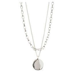 Pilgrim Pilgrim Necklace Clarity, Silver