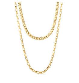 Pilgrim Pilgrim Necklace Clarity, Gold