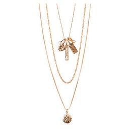 Pilgrim Pilgrim Necklace Legacy, Rose Gold
