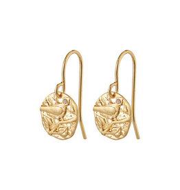 Pilgrim Pilgrim Earrings Blair, Gold