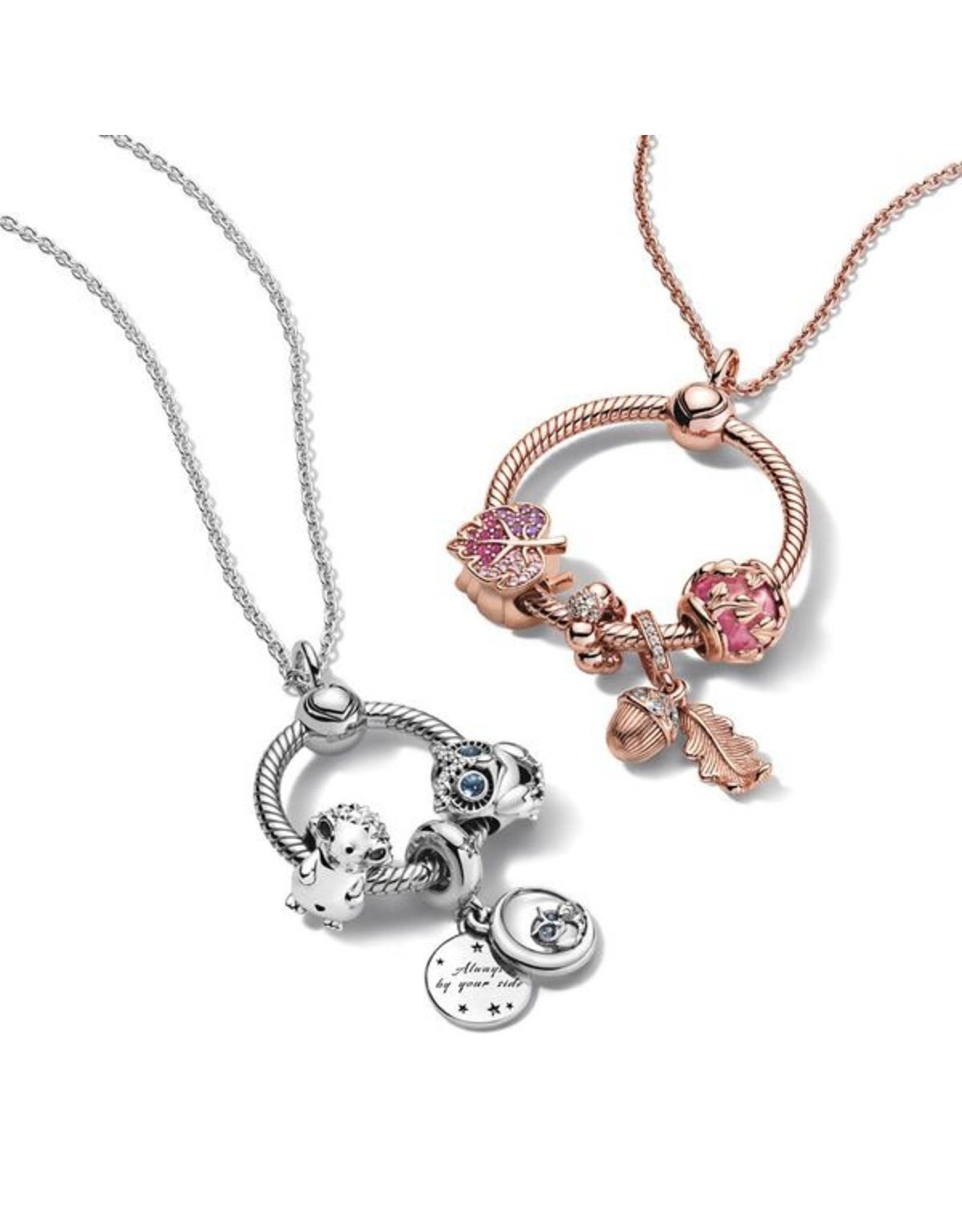 Pandora Pandora O Pendant, 388256, Medium, Rose Gold