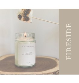 My Beautiful Mesh Fireside Candle, 3.5oz