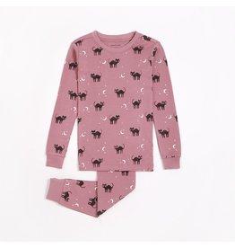 Petit Lem Petit Lem, Pyjamas Halloween Rose, Chat