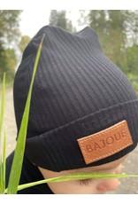 Bajoue Bajoue, Bonnets Bamboo, Noir