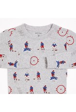 Petit Lem Ensemble Pyjamas 2Mcx Tricot, Hockey Sleep