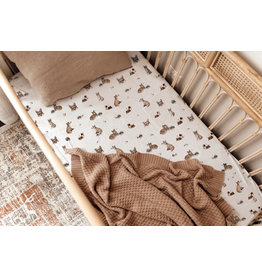 Snuggle Hunny Snuggle Hunny, Fitted Cot Sheet, Fox