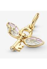Pandora Pandora Charm, 360034C01, Harry Potter, Winged Key Pendant, 14K Gold-Plated