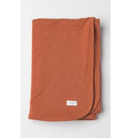 Loulou Lolipop Stretch Knit Blanket In Tencel, Umbra
